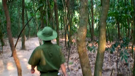 north vietnam : Vietnam Jungle with Soldier