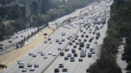 motorkerékpár : Busy 405 Freeway in Los Angeles