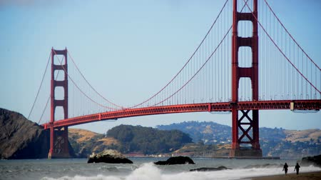 nevoeiro : The Golden Gate Bridge with San Francisco in the background.