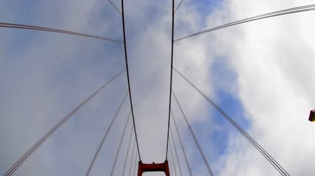 goldene : Die berühmte Golden Gate Bridge in San Francisco Videos