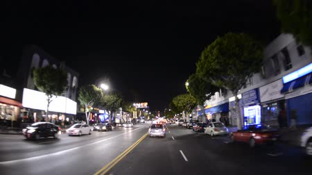 tiyatro : Famous Hollywood California at Night
