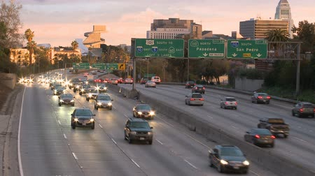marmeláda : Traffic on the 101 Freeway in Los Angeles Dostupné videozáznamy