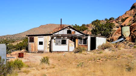 руины : Abandon Buildings in the Mojave Desert