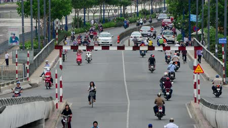 rád : Time Lapse of Traffic in Busy District of HCMC - Ho Chi Minh City Saigon Vietnam Dostupné videozáznamy