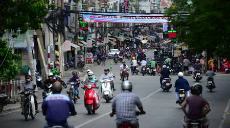 marmeláda : Time Lapse of Traffic in Busy District of HCMC - Ho Chi Minh City Saigon Vietnam Dostupné videozáznamy