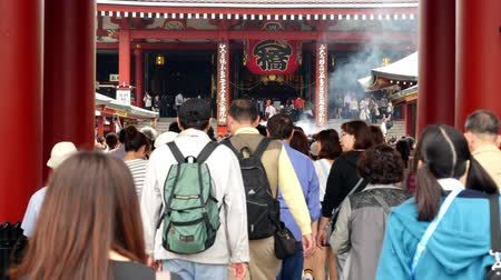 sagrado : Time Lapse of People at Sensoji Temple  -  Tokyo Japan