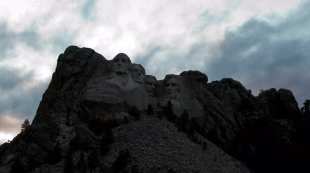 governo : Time Lapse of Mount Rushmore - 4K