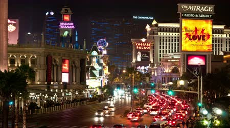čas : Time Lapse of the Las Vegas Strip at Night -   4K - 4096x2304 Dostupné videozáznamy