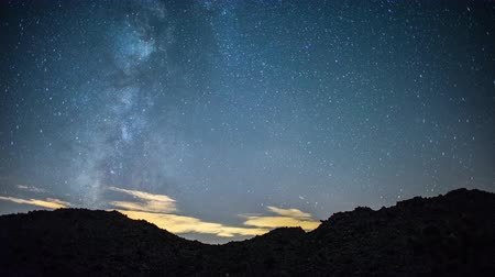 perseids : Time Lapse of Perseids Meteor Shower - Joshua Tree California Desert