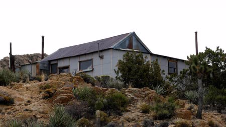 Zoom Out - Abandon House - Rileys Camp - Mojave Desert California
