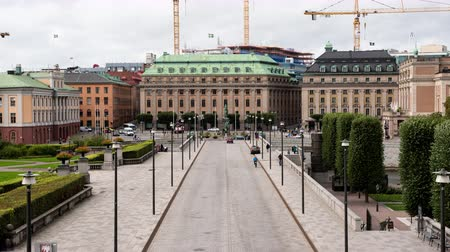 Time Lapse Zoom - Government Buildings -Stockholm Sweden Dostupné videozáznamy