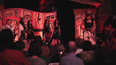canadense : First Nations festival Vancouver Canada 5 March 2016