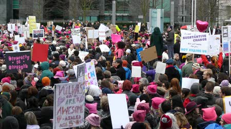 eşitlik : Vancouver Womens march on Washington