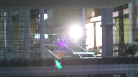 kurutma : Manufacture of ceramic tiles, Automated line for the production of ceramic tiles, Indors Stok Video