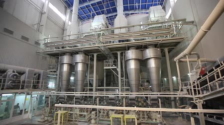 pompki : Industrial interior, Interior of a modern factory, processing plant, Chemical plant