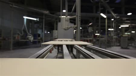ceramika : Manufacture of ceramic tiles, Automated line for the production of ceramic tiles, Indors Wideo