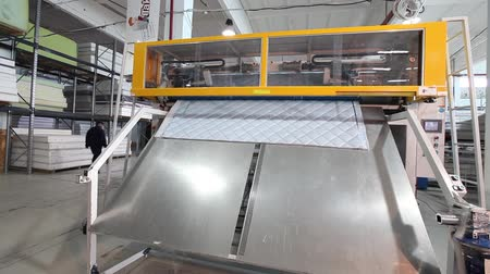 matrace : Manufacture mattresses, factory, mattresses Plant, modern factory, indoors