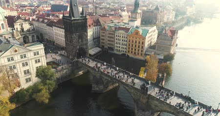 çek cumhuriyeti : Panoramic view from above on the Prague Castle, aerial of the city, Old Town, Prague
