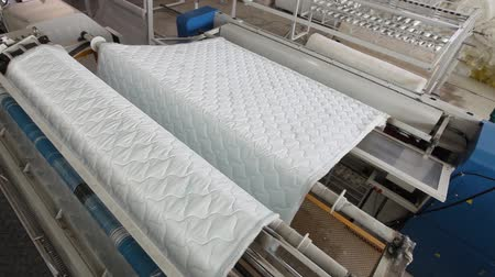 colchão : Manufacture mattresses, factory, mattresses Plant, modern factory, indoors