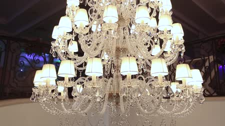 коридор : big beautiful vintage chandelier, Classic chandelier, beautiful decoration