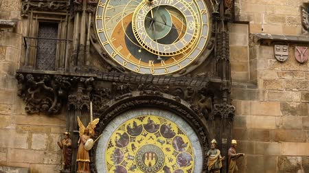 зодиак : Astronomical clock in Prague, Czech Republic, situated at the Old Town Square. Prague Astronomical Clock
