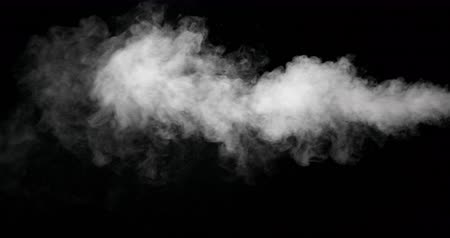 kondenzace : Abstract mist on a black background