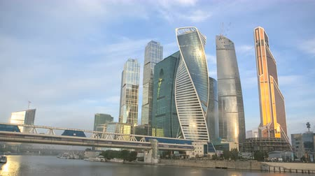 irodaház : moscow international business center, time-lapse
