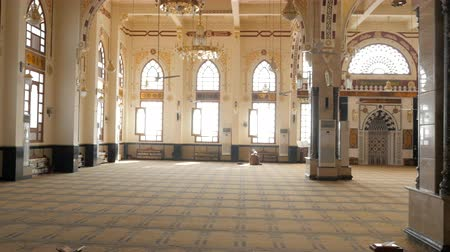 The Prayer Hall in the Mosque