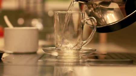 zsák : Teabag in the cup with hot water