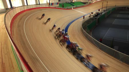 bisiklete binme : Cycling track Pursuit competition sequence