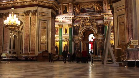 muzeum : Interior St. Isaacs Cathedral Museum St. Petersburg Russia  zoom out