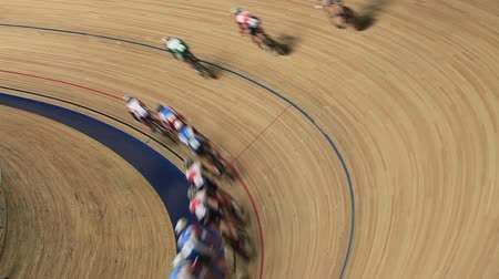 stopa : Cycle race on the track motion blur