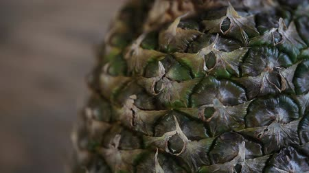 pullu : Pineapple Exotic sweet fruit down up.
