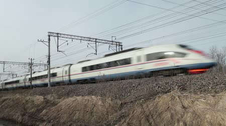 demiryolu : high-speed passenger train