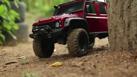 obránce : Land Rover Defender rides on  camera, Off-road vehicle, expedition
