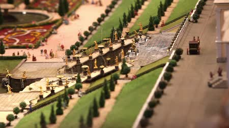 jardim : Royal fountain miniature model