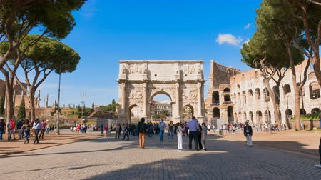 constantine : Triumphal Arch of Constantine, Best travel around the world, Italy Lazio Rome