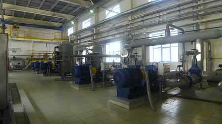 electromotor : Pumping station in a factory