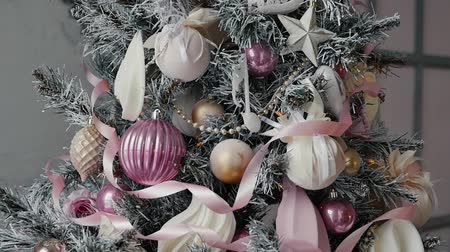 profundidade de campo rasa : Christmas decoration, slowmotion, New Year