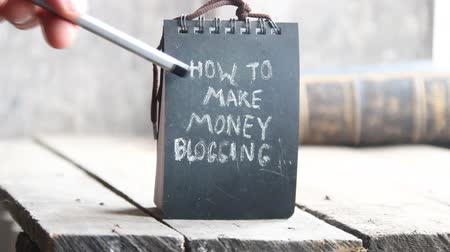 seu : How to make money blogging