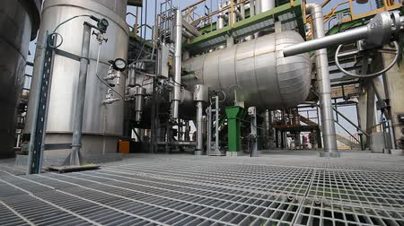 elektrownia : Process area of petrochemical plant