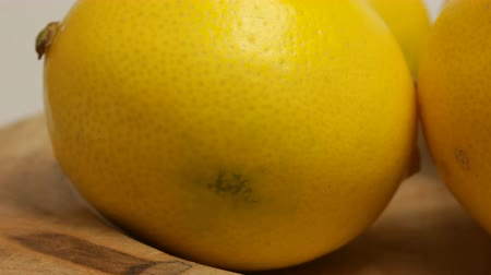 antioxidant : Yellow lemon with sour taste, citrus fruit, vitamins for healthy diet