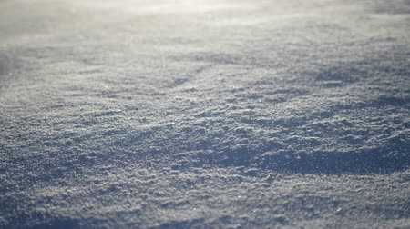 snow sparkle : Snow slow motion, Frozen winter shot, Cold Polar Cyclone Stock Footage