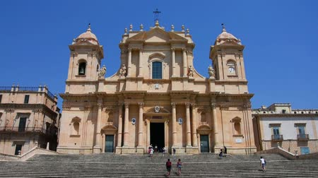 conhecido : View of the Baroque Cathedral of Noto in Sicily, Italy