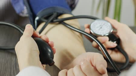 itself : Closeup of Blood Pressure Measuring