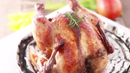 tavuk : HD close up roasted chicken BBQ