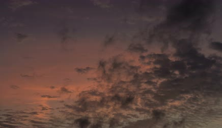 Time lapse sunset sky background Stock Footage