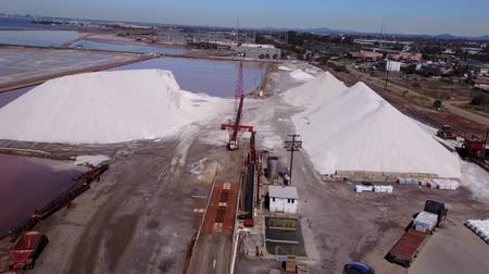 mines : San Diego - South Bay Salt Mountains - Drone Video  Aerial Video of South Bay Salt Mines It has been in operation since the 1870s, when the city first experienced the effects of the Industrial Revolution. In 1883
