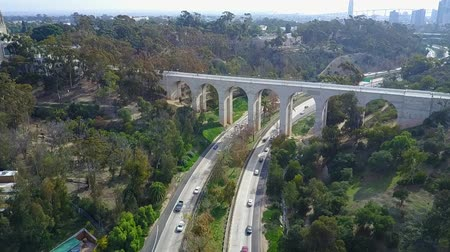 дополнение : San Diego Balboa Park  - Downtown -  Drone Video  Balboa Park is a 1,200-acre urban cultural park in San Diego, California, United States. In addition to open space areas, natural vegetation zones, green belts, gardens, and walking paths.