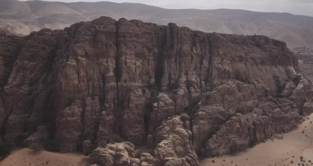 jordanie : Nationale reservaat ecologische site Petra White Canyon